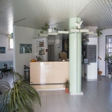 Hall de l'hôtel Aquila de Viserbella de Rimini