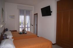 Chambre de l'hôtel Atlantic de Viserbella de Rimini