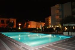 Piscine de l'hôtel Atlantic de Viserbella de Rimini