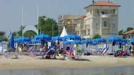 Appartements de l'hôtel Baia de Viserbella de Rimini
