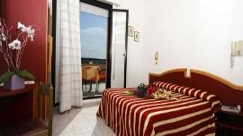 Chambre de l'hôtel Baia de Viserbella de Rimini