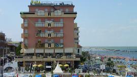 Vue sur l'hôtel Baia de Viserbella de Rimini