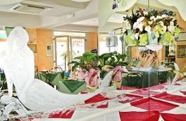 Restaurant de l'hôtel Cadiz de Viserbella de Rimini