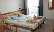 Chambre de l'hôtel Dasamo de Viserbella de Rimini