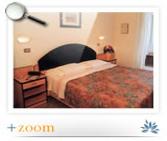 Chambre de l'hôtel Diana de Viserbella de Rimini
