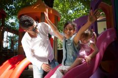 Aire de jeux pour enfants de l'hôtel Fra I Pini de Viserbella de Rimini