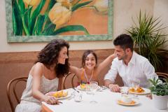 Restaurant de l'hôtel Fra I Pini de Viserbella de Rimini