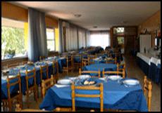 Restaurant de l'hôtel Viking de Viserbella de Rimini
