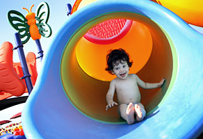 Hôtel Viserbella vacances idéales pour les enfants