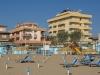 Hôtel Palos, Rimini, en bordure de la mer Adriatique