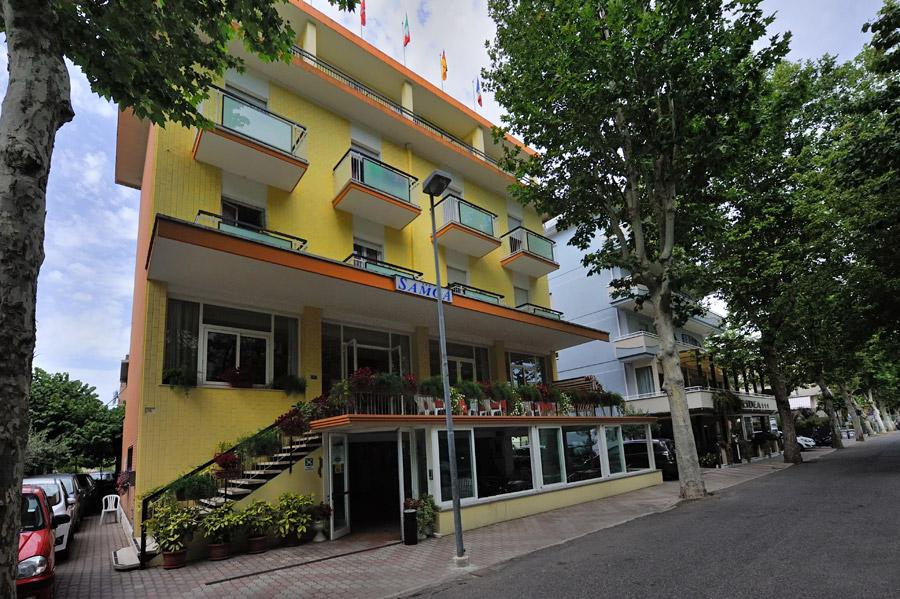 Hotel samoa viserbella hotels h tels rimini c te for Hotel trois etoiles